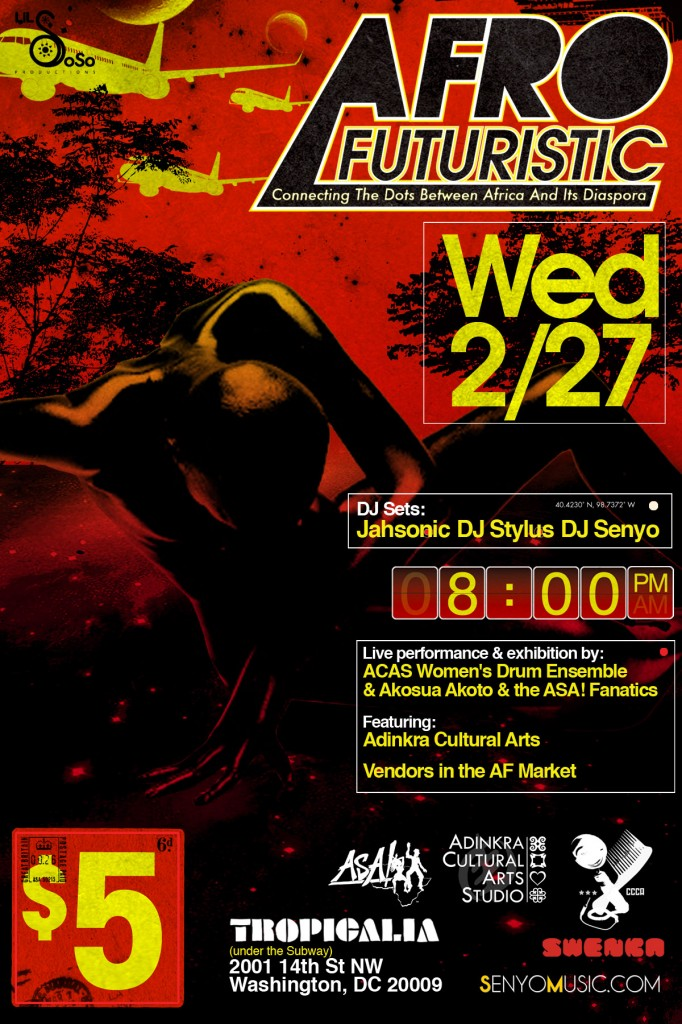 Afrofuturistic @Tropicalia - Wednesday February 27
